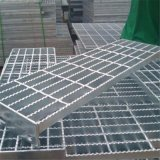 鍍鋅齒形平臺鋼格板 開封污水處理廠防滑踏步板 水溝蓋板鍍鋅現貨