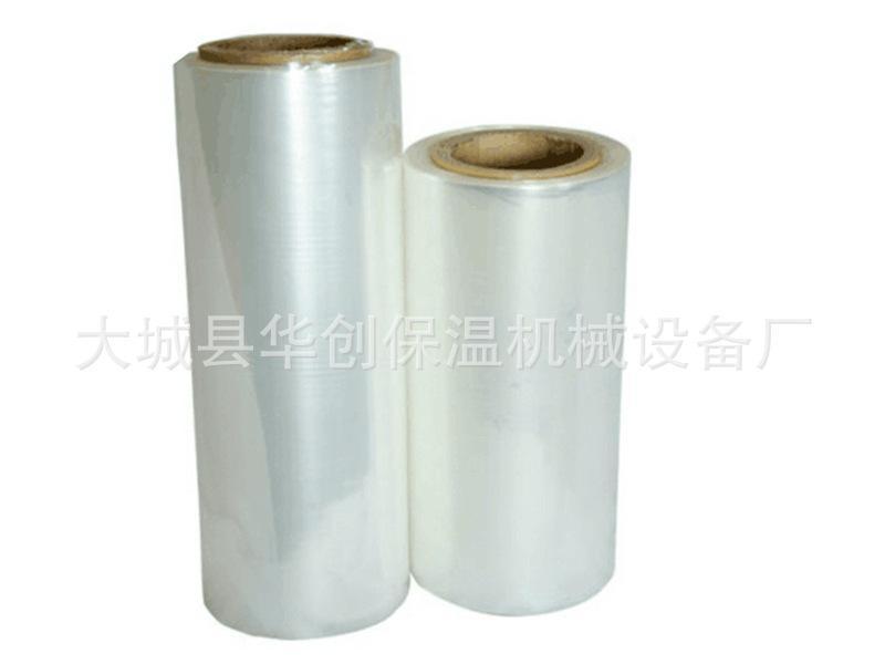 定做加工熱收縮膜 POF熱收縮包裝膜 PVC收縮膜 1.2-1.9絲可選