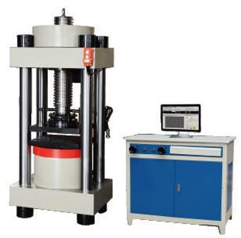 微机控制混凝土建材200吨恒应力压力试验机 砖抗压机