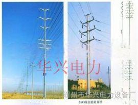 宁夏10KV电力钢杆 高杆灯 电力钢杆
