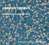 呼和浩特胶粘石彩色胶筑自然石透水地坪专用AB胶水直销