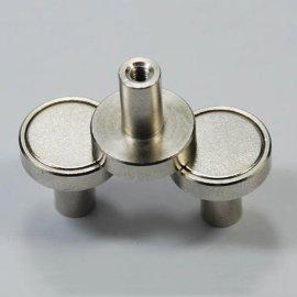 厂家直销LED磁铁 显示屏磁柱 P10半户外单元板磁柱 吸顶灯磁铁