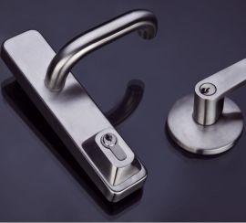 胜安/Secone不锈钢防火逃生门锁消防通道锁(外装锁)