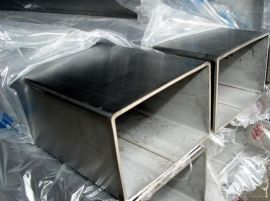 201厚壁不锈钢方管 机械设备用拉丝不锈钢方通