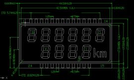 电子秤水电表密码锁