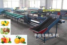 全自动百香果选果机,生产分选机的厂家