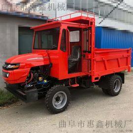 四缸柴油機性能強勁拖拉機-爬坡力度大的四不像