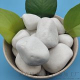 昌平區白色鵝卵石   永順純白鵝卵石多少錢