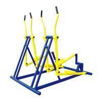 户外健身器材两联椭圆机