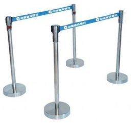 青岛一米线------青岛银行柱----青岛伸缩隔离带围栏QD