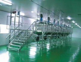 液体灌装生产线 洗发水生产线 洗洁精灌装机