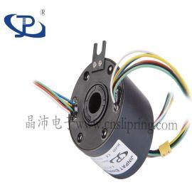 耐高温防腐蚀  认证大型机械设备可定制过孔式滑环空心轴滑环
