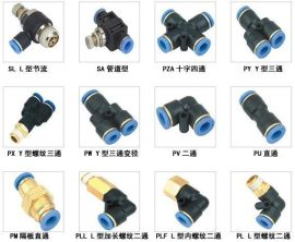 PY塑料Y型三通, 气管接头, 快速接头 ,气动接头, 气动元件