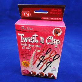 直銷twist n clip 萬能別針頭飾 扭扭百變盤發 魔術盤髮夾TV新品