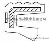 供应台湾SOG-VG形式8*12*3橡胶骨架油封