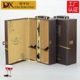 蒂轩包装红酒大象纹皮盒红酒包装盒葡萄酒礼盒红酒盒子定做直销