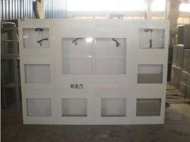 立腾机柜定做8+1孔挂墙电视墙