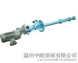 立式单螺杆泵LG螺杆泵系列