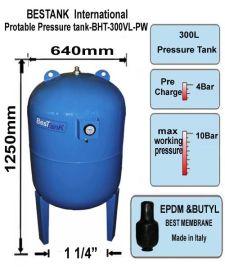 不锈钢气压罐 压力罐 膨胀罐