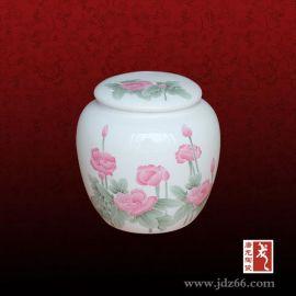 陶瓷罐子,2016**青花手绘功道杯,茶叶罐订做