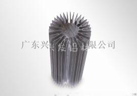 河南铝材厂|  兴发太阳花铝型材LED散热器