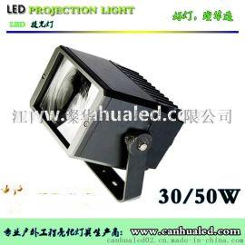 璨华照明供应50W方形窄光束LED投光灯,户外照明景观投光灯,户外LED投射灯