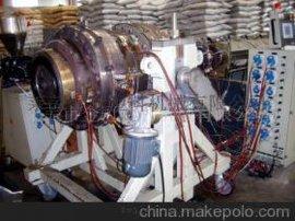 莱芜金冠塑机双抗PE管材塑料机械挤出机生产线