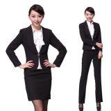北京女式中高档职业装定做@金融职业装订制/尼罗森供应