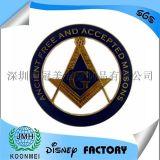 厂家定制狮子会共济会徽章狮子会钥匙扣奖牌奖章工艺品纪念币
