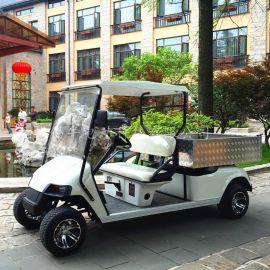 江西2座高尔夫款多功能货斗车,小型农用载货车,四轮电瓶运输车