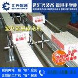 廠家直銷鏈板輸送線 輕型鏈輸送流水線 飲料龍骨鏈輸送線