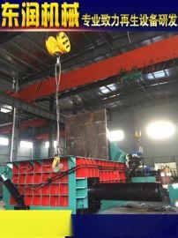 现货Y81-1250型油桶压扁机、铝型材打包机、钢带金属液压打包机