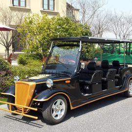 海南文昌8座電動老爺車,古典觀光遊覽車,樓盤接待車,休閒代步車