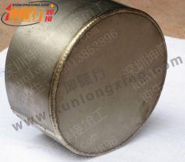 东莞塘厦氩焊厂坤隆行供应钛材钛合金氩焊加工 产能足够