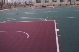 悬浮式拼装运动地板铺设找华兴体育