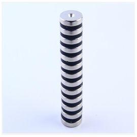 厂销钕铁硼磁钢强力磁铁 铁氧体异形耐高温径向充磁磁铁定做
