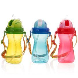 儿童吸管水杯 防漏水壶   饮水杯 带包装