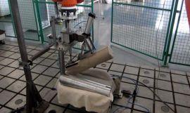 客车汽车座椅模拟人进出耐久寿命试验机 座椅摩擦疲劳测试台