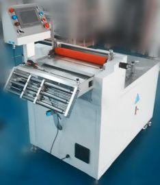 電腦全自動裁切機PE膜薄膜切斷機PVC膜切片機自動不幹膠切斷機