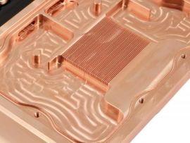 纯铜 C1100 铲削散热片