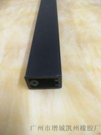 厂家定制PVC塑胶异型材 挤出加工塑料护角 墙体防撞护角U型pvc