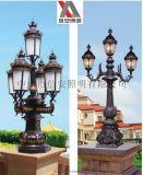 歐式庭院燈戶外   防水LED庭院燈多頭多款可選   廠家直銷