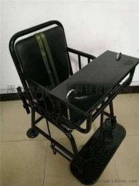 [鑫盾安防]国标不锈钢审讯椅 树脂白板钥匙型审讯桌椅XD6