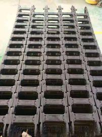 35*75塑料拖链型号工程塑料拖链尼龙拖链坦克链