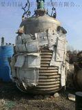 转让二手十吨不锈钢外盘管反应釜超低价