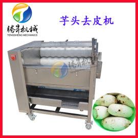 花生芋头清洗洗泥机 毛刷清洗机 农产品去皮设备