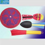 受歡迎黃色海綿軟飛盤 水上玩具 飛碟海綿 沙灘飛盤