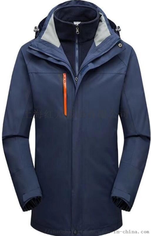 上海冲锋衣定制 男女冲锋衣 防寒保暖 两件套冲锋衣