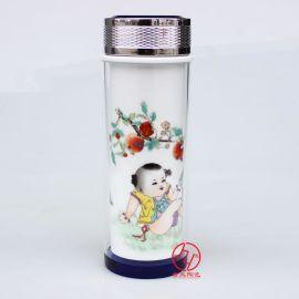 加工陶瓷保温杯,礼品陶瓷保温杯定制