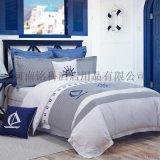 河南酒店用品宾馆客房布草用品客房床上用品定做生产厂家